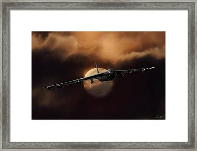 Bad Moon Rising Framed Print
