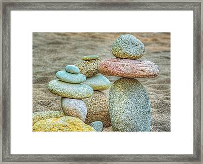 Balanced Framed Print by Dee Browning