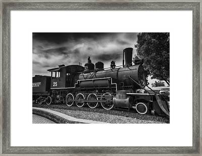 Baldwin Steam Engine Framed Print