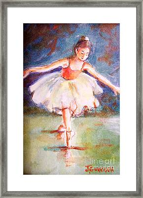 Ballerina 1 Framed Print by Joyce A Guariglia