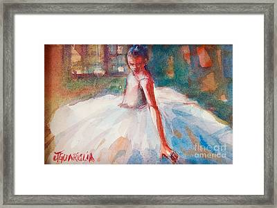 Ballerina 2 Framed Print by Joyce A Guariglia