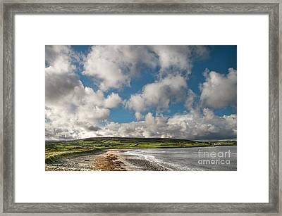 Ballycastle Bay Framed Print by Marion Galt