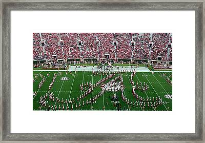 Bama Script A Framed Print by Kenny Glover