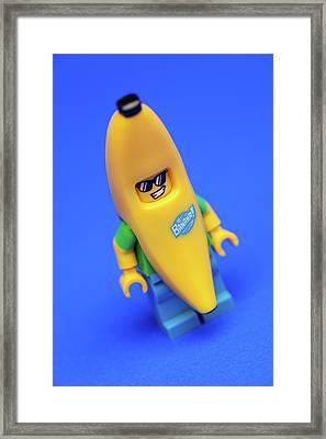 Banana Man Framed Print