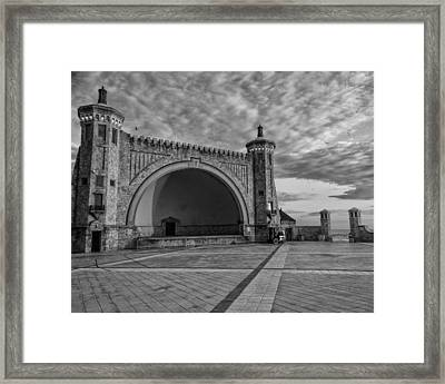 Band Shell Framed Print