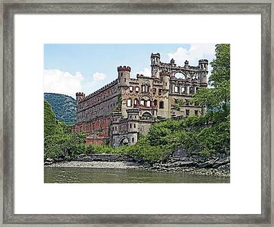 Bannerman Castle On Pollepel Island In The Hudson River New York Framed Print by Brendan Reals