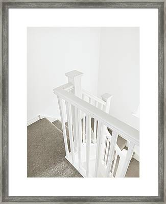 Bannister Framed Print by Tom Gowanlock