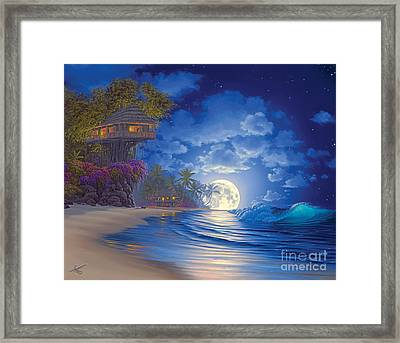 Banyan Moon Framed Print by Al Hogue