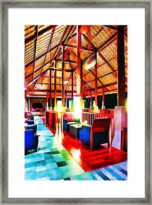 Bar Bedulu Framed Print