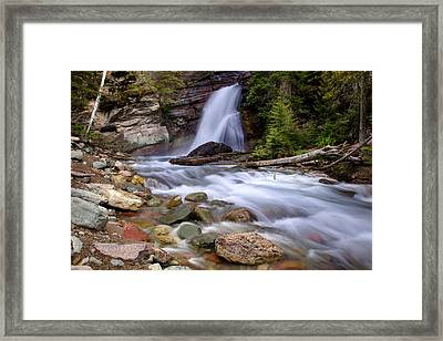 Baring Falls Framed Print by Jack Bell