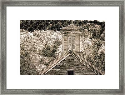 Barn Montgomery Vermont Framed Print