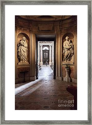 Baroque Chapel Framed Print by Jose Elias - Sofia Pereira