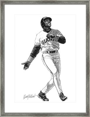 Barry Bonds Framed Print