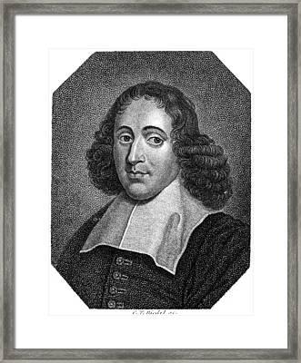 Baruch Spinoza (1632-1677) Framed Print by Granger