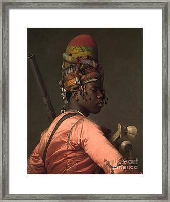 Bashi-bazouk Framed Print by Jean-Leon Gerome