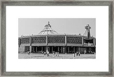 Basilica De Guadalupe Framed Print