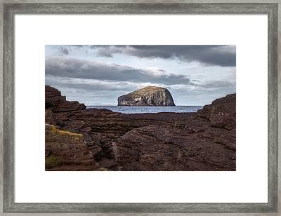 Bass Rock Framed Print