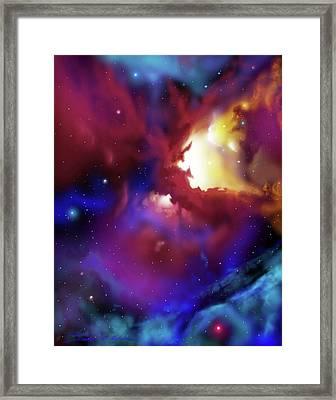 Bat Nebula Framed Print