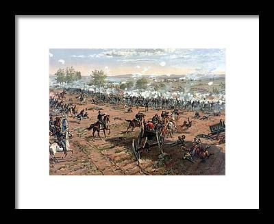 Civil War Framed Prints