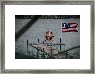 Battle-worn Framed Print by Kathleen Scanlan