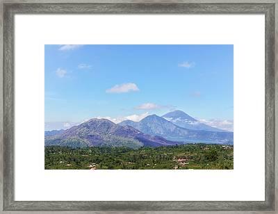 Batur - Bali Framed Print