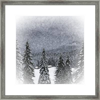 Bavarian Winter's Tale I Framed Print