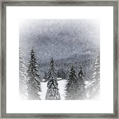 Bavarian Winter's Tale I Framed Print