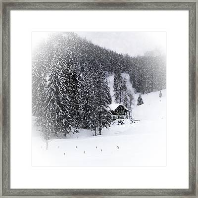 Bavarian Winter's Tale Ix Framed Print