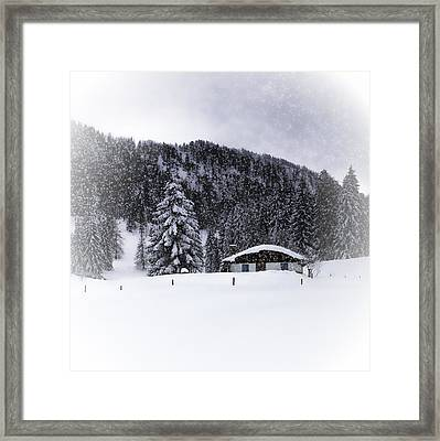 Bavarian Winter's Tale Viii Framed Print by Melanie Viola
