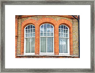 Bay Window Framed Print
