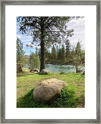 Be Still My Heart Portrait Framed Print