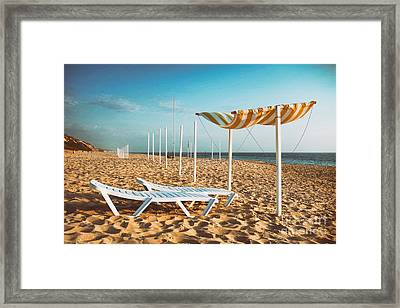 Beach Shader Framed Print