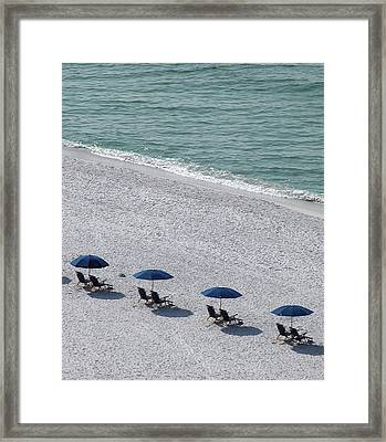 Framed Print featuring the photograph Beach Therapy 1 by Marie Hicks