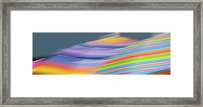 Beach Umbrellas Framed Print