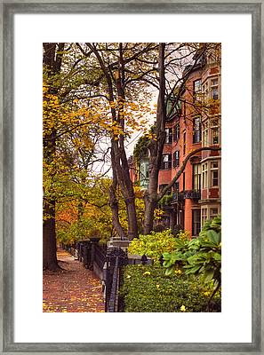 Beacon Hill Framed Print by Joann Vitali