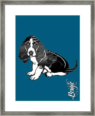 Beagle Collection Framed Print