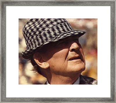 Bear Bryant Alabama Football Head Coach 01 Framed Print