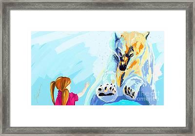 Bear Framed Print by Lidija Ivanek - SiLa