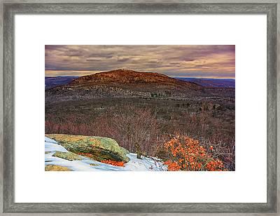 Bear Mountain  Framed Print by Raymond Salani III