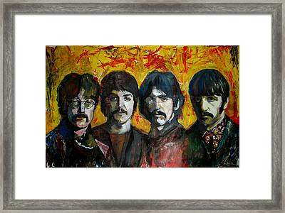 Beatles Framed Print