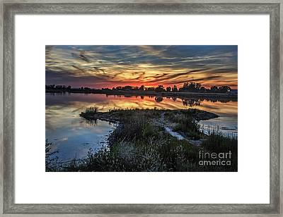 Beautiful Evening Framed Print