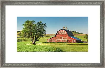 Beautiful Rural Morning Framed Print