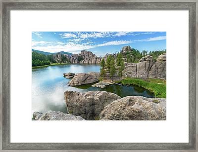 Beautiful Sylvan Lake Framed Print