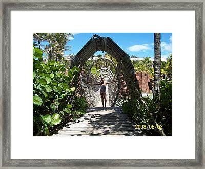 Beautiful Tunnel Framed Print by Rishanna Finney