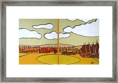 Beautiful Yellow Day Framed Print by Jason Charles Allen