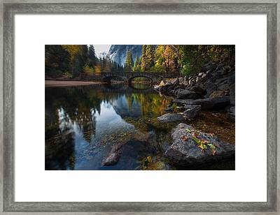 Beautiful Yosemite National Park Framed Print
