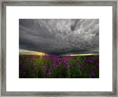 Beauty And The Beast Framed Print by Aaron J Groen