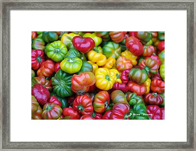 Beauty Contest Framed Print by Ming Yeung