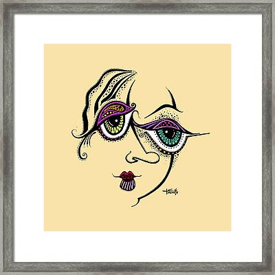 Beauty In Imperfection Framed Print by Tanielle Childers