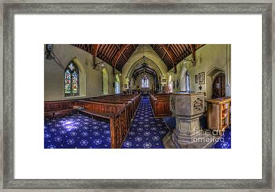 Beauty Of The Soul Framed Print by Ian Mitchell